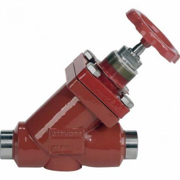 Danfoss Shut-off valves 148B4637 STC 80 A STR SHUT-OFF VALVE HANDWHEEL #2 image